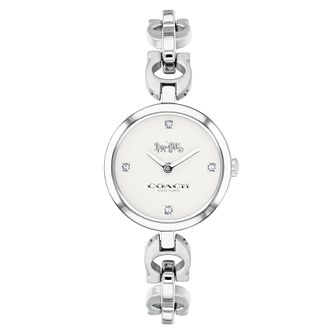 Coach Ladies' Signature Chain Link Bracelet Watch - Product number 9410279