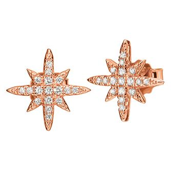Folli Follie Essentials Ladies' Cubic Zirconia Stud Earrings - Product number 9415882