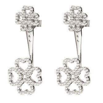 Folli Follie Ladies' Cubic Zirconia Jacket Earrings - Product number 9415955