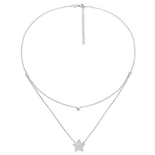Folli Follie Fashionably Silver Ladies' Star Necklace - Product number 9416625