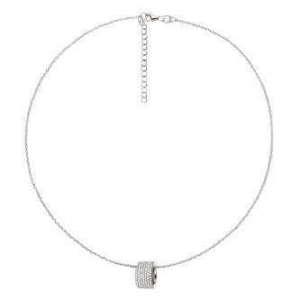 Folli Follie Ladies' Sterling Silver Hoop Pendant - Product number 9416668