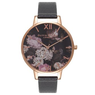 Olivia Burton Signature Floral Rose Gold Metal Plated Watch - Product number 9418083