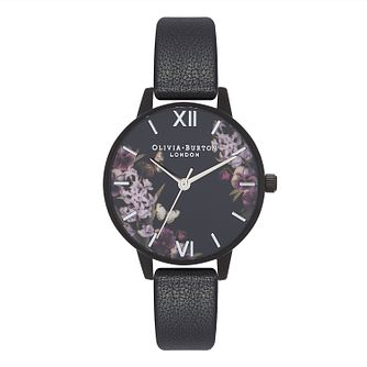 Olivia Burton After Dark Ladies' Black Strap Watch - Product number 9418091