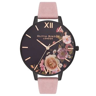 Olivia Burton After Dark Ladies' Pink Strap Watch - Product number 9418105