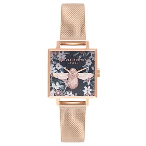 Olivia Burton Bejewelled Rose Gold Metal Plated Watch - Product number 9418245