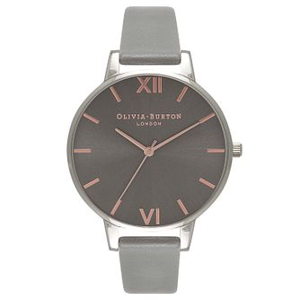 Olivia Burton Big Dial Ladies' Stainless Steel Strap Watch - Product number 9418350