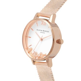 Olivia Burton Busy Bees Rose Gold Metal Plated Watch - Product number 9418385