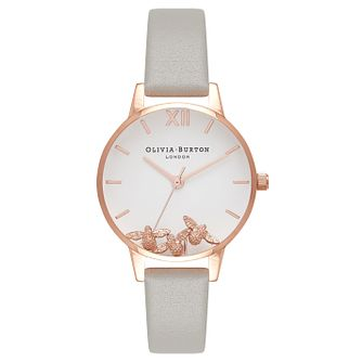 Olivia Burton Busy Bees Ladies' Rose Gold Plated Watch - Product number 9418393
