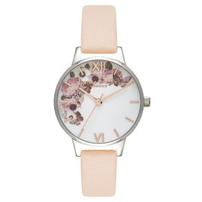 Olivia Burton Midi Floral Ladies' Stainless Steel Watch - Product number 9418466