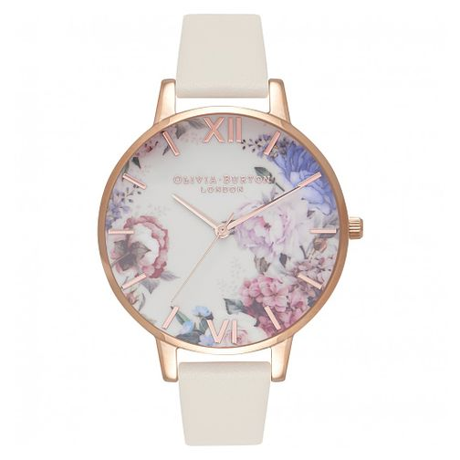 Olivia Burton Enchanted Garden Rose Gold Metal Plated Watch - Product number 9419047