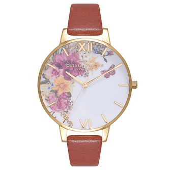 Olivia Burton Enchanted Yellow Gold Metal Plated Watch - Product number 9419055