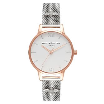 Olivia Burton Embellished Strap Ladies' Two Colour Watch - Product number 9419071