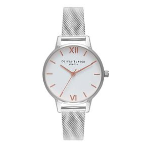 Olivia Burton Silver Tone Metal Plated Bracelet Watch - Product number 9419160
