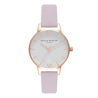 Olivia Burton Rose Gold Metal Plated Strap Watch - Product number 9419187