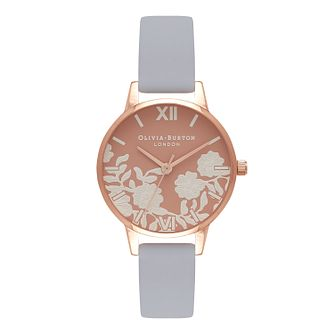 Olivia Burton Rose Petal Ladies' Rose Gold Plated Watch - Product number 9419225