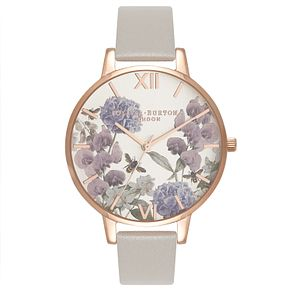 Olivia Burton Parlour Bee Ladies' Rose Gold Plated Watch - Product number 9419268