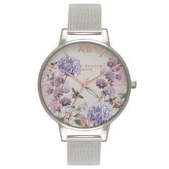 Olivia Burton Enchanted Ladies' Stainless Steel Mesh Watch - Product number 9419276