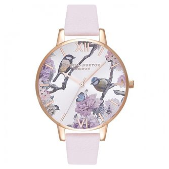 Olivia Burton Pretty Blossom Rose Gold Metal Plated Watch - Product number 9419284
