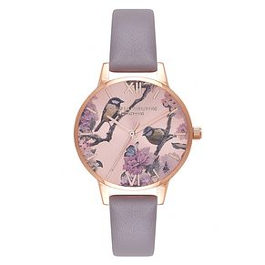 Olivia Burton Pretty Blossom Rose Gold Metal Plated Watch - Product number 9419292