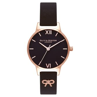 Olivia Burton Vintage Bow Ladies' Rose Gold Plated Watch - Product number 9419357