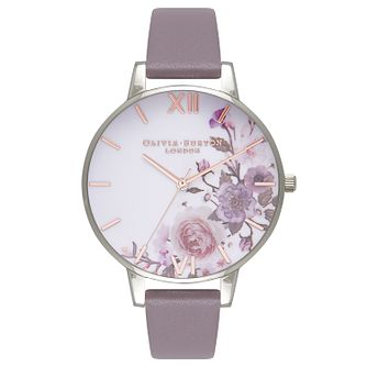 Olivia Burton Enchanted Garden Silver Tone Metal Strap Watch - Product number 9419438