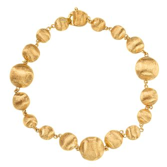 Marco Bicego 18ct yellow gold beaded bracelet - Product number 9420827