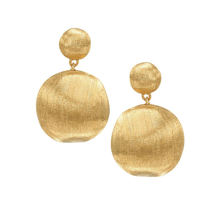 Marco Bicego 18ct yellow gold drop earrings - Product number 9420886