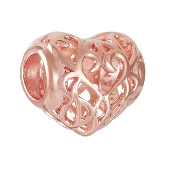 Chamilia Filigree Heart Blush Charm - Product number 9425195