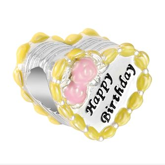 Chamilia Birthday Cake Heart Charm - Product number 9425349