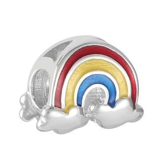 Chamilia Rainbow Sliding Charm with Red Yellow & Blue Enamel - Product number 9425357