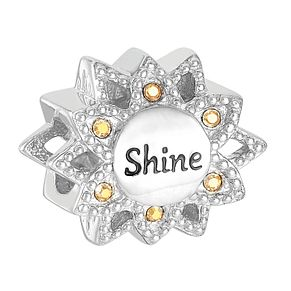 Chamilia Shine Flower Charm with Swarovski Crystal - Product number 9425446