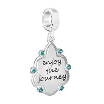 Chamilia Enjoy The Journey Charm with Swarovski Crystal - Product number 9425462