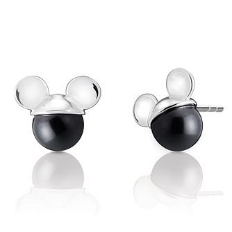 Chamilia Disney Mickey Mouse Black Pearl Earrings - Product number 9425667