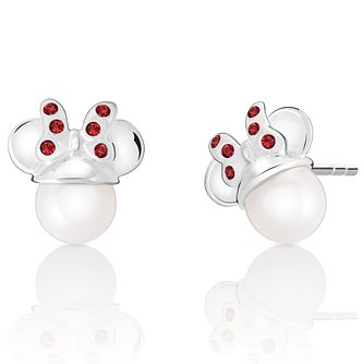 Chamilia Disney Minnie Pearl Earrings with Swarovski Crystal - Product number 9425675