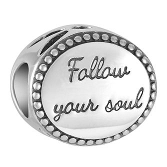 Chamilia Follow Your Soul Disc Charm - Product number 9426450