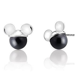 Chamilia Disney Mickey Mouse Black Pearl Earrings - Product number 9426965