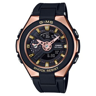 Casio Baby-G G-MS Ladies' Black Resin Strap Watch - Product number 9427597