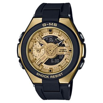 Casio Baby-G G-MS Ladies' Black Resin Strap Watch - Product number 9427600