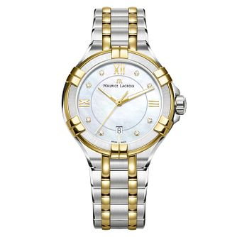 Maurice Lacroix Aikon Ladies' Two Colour Diamond Watch - Product number 9429484