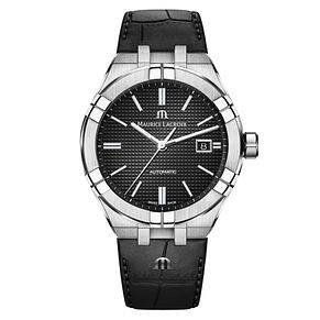 Maurice Lacroix Aikon Men's Black Dial Strap Watch - Product number 9429921
