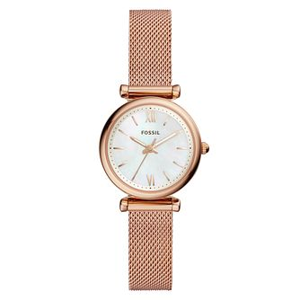 Fossil Hybrid Smartwatch - Q Jacueline Pastel Pink Watch - Product number 9430806