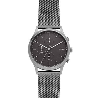 Skagen Men's Stainless Steel Chronograph Mesh Bracelet Watch - Product number 9431160