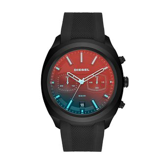 Diesel Black Silicone Strap Watch - Product number 9431330