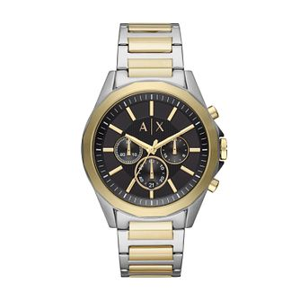 Armani Exchange Two Tone Stainless Steel Bracelet Watch - Product number 9431470