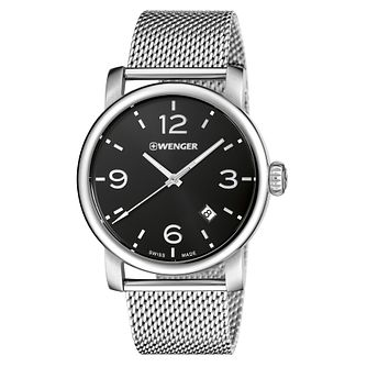 Wenger Urban Metropolitan Men's Mesh Bracelet Watch - Product number 9432280