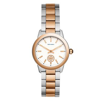 Tory Burch Collins Ladies' Two Colour Rose Gold Tone Watch - Product number 9432906