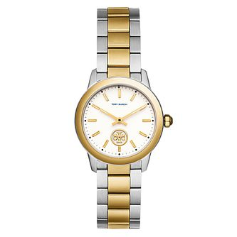 Tory Burch Collins Ladies' Two Colour Yellow Gold Tone Watch - Product number 9432922