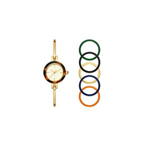 Tory Burch Gigi Ladies' Yellow Gold Tone Bangle Watch - Product number 9433066