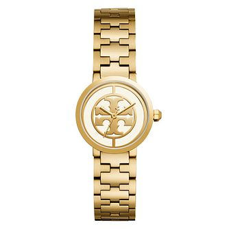 Tory Burch Reva Ladies' Yellow Gold Tone Bracelet Watch - Product number 9433074