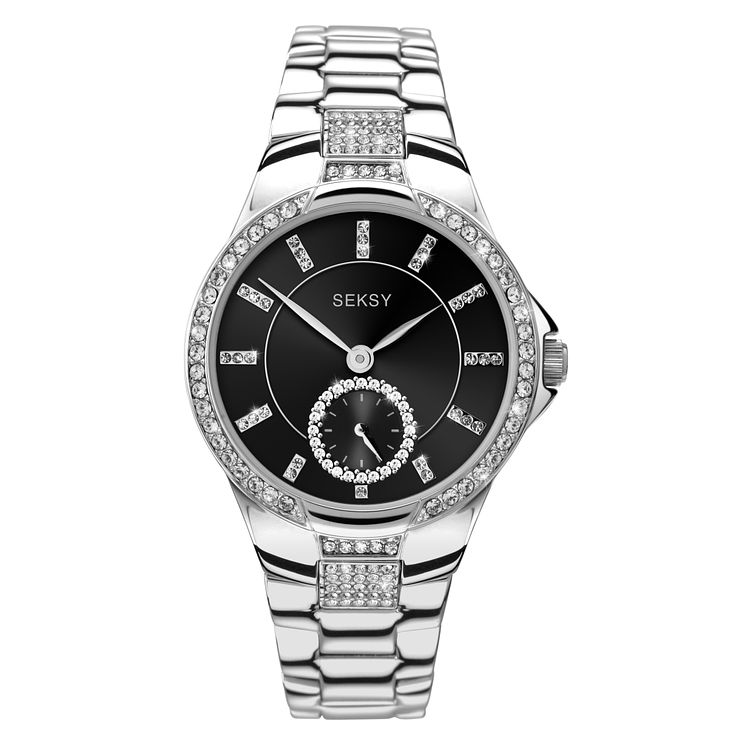 Seksy Ladies' Silver Plated Bracelet Watch - Product number 9434216